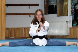 Cimnastikle başladı tekvandoda dünya ikincisi oldu