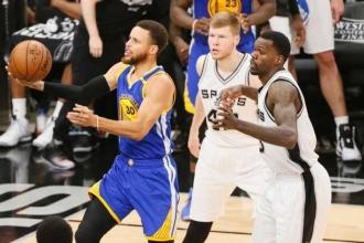 Warriors, Spurs'ü de süpürdü