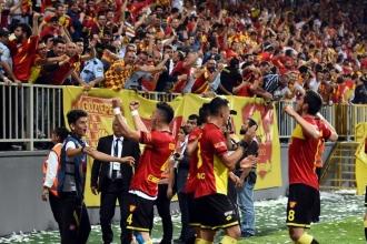 TFF 1. Lig Play-Off yarı final maçları oynandı