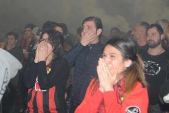 Eskişehirspor taraftarında maç sonrasında hüzün