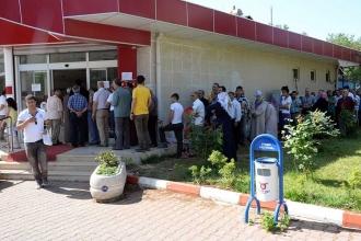 Diyarbakır'da ucuz et kuyruğu