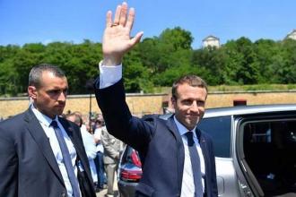 Fransa'da seçimin galibi Macron oldu