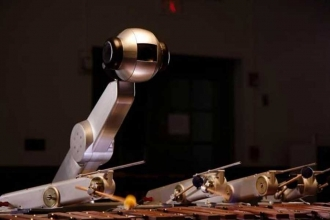 Kendi müziğini besteleyip çalan robot geliştirildi