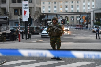 Belçika'nın başkenti Brüksel'de patlama