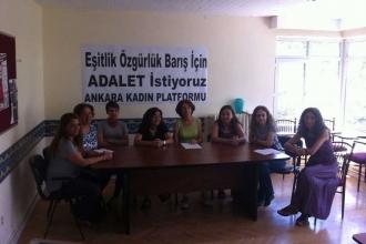 Ankara Kadın Platformu Adalet Yürüyüşü'ne katılıyor