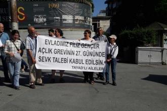 'Açlık grevindeki mahpus Gençer'in talepleri kabul edisin'