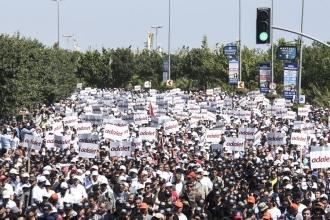 Adalet mücadelesi sadece yürüyüşten ibaret kalmamalı