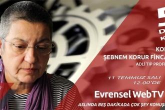 Prof. Dr. Fincancı'yla Gülmen ve Özakça'yı konuştuk