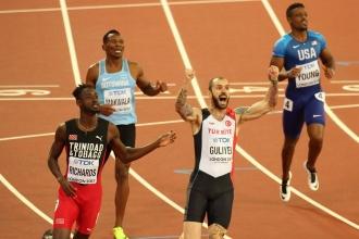 Ramil Guliyev dünya şampiyonu oldu