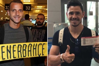 Fenerbahçe'de Soldado imzaladı, Giuliano yolda