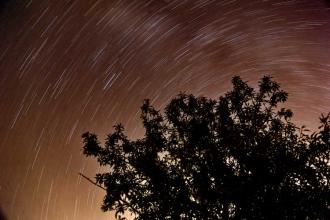 Ankara'da Perseid meteor yağmurundan fotoğraflar