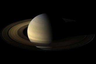 Cassini, Satürn'ün gazından aldı