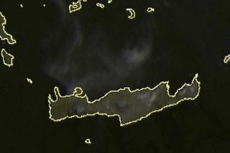 Attika'daki yangının dumanları Girit'i sardı