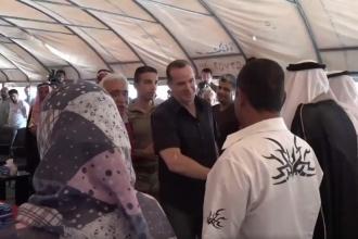Trump'ın IŞİD temsilcisi Rakka Sivil Meclisi'ni ziyaret etti