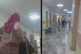 Ankara Numune Hastanesi'nde odaları su bastı