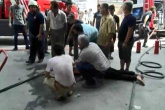 Bayrampaşa'da işyerinde patlama: 1 ölü 10 yaralı