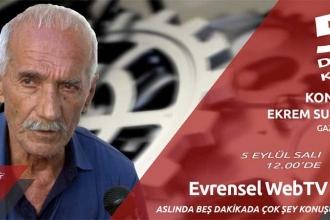 Diyarbakırlı gazeteci Ekrem Sunar 5 Dakikada'ya konuk oldu
