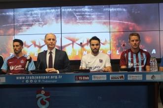 Trabzonspor'da 3'lü imza töreni