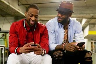 Wade: LeBron'la fıstık ezmesi ve reçel gibiyiz