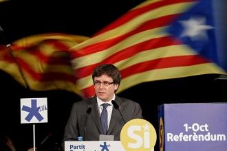 Katalonya liderinden 'ya diyalog ya bağımsızlık' uyarısı