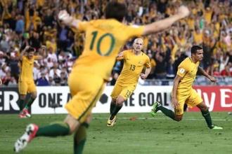 Avustralya, Suriye'nin Dünya Kupası rüyasını sona erdirdi