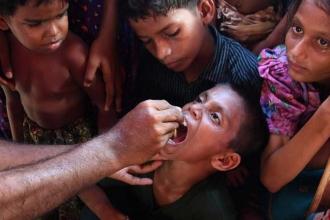 BM'den Arakanlılar için dev aşı kampanyası