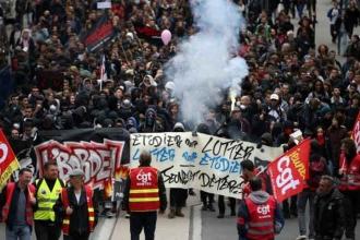 Belçika ve Fransa'da kamu grevi