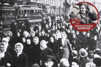 Ekim'in aynasından kadınlar