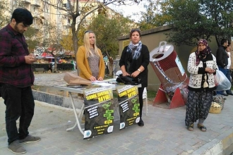 Termik santrale karşı imza kampanyası