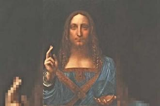 Leonardo da Vinci'nin tablosu 450 milyon dolara satıldı