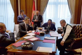 Erdoğan and Trump discussed developments in Syria
