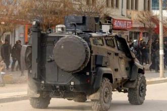Cizre'de zırhlı aracın çarptığı çocuk taburcu edildi