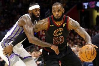 LeBron James attı, Cavaliers üst üste 13. kez kazandı