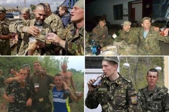 Ukrayna Ordusu alkol ve uyuşturucu batağında