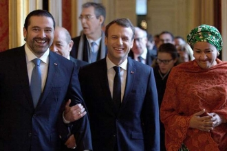Macron'dan İran ve Suudi Arabistan'a uyarı