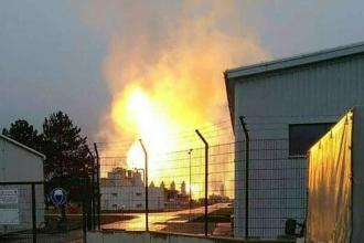 Avusturya'da doğal gaz tesisinde patlama: 1 ölü
