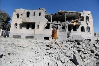 Suudi Arabistan yine Yemen'i vurdu, en az 39 ölü