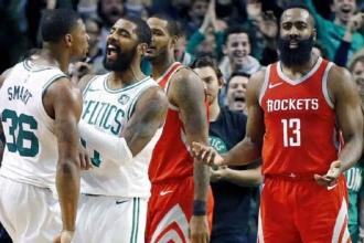 Celtics, Rockets'ı 26 sayı geriden gelip yendi