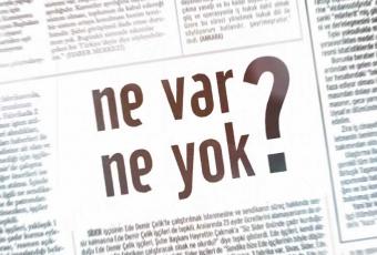 Gazetelerde 'Ne Var Ne Yok?' - 20 Kasım 2017 Pazartesi