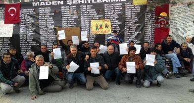 Soma madencileri evrensel'e yazdı