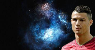 Evrenin en parlak galaksisine Ronaldo'nun adı verildi