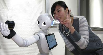 İlk insansı robot Pepper bir dakikada tükendi