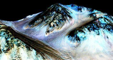 Mars'ta bulunan su izleri, yaşam ihtimalini artırdı