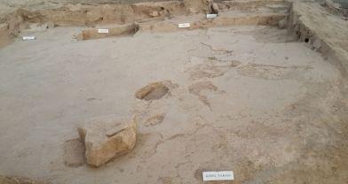 İnsanlığın 10 bin yıllık el ve ayak izleri: Aşıklı Höyük