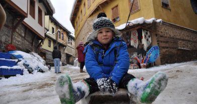 600 yıllık köyde kış