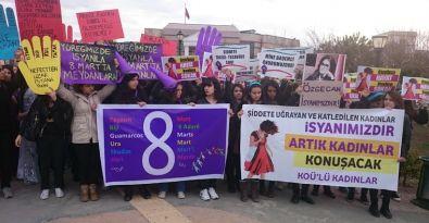 KOÜ'de 8 Mart yürüyüşü