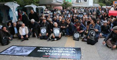 Ermeni Soykırımı İzmir'de lanetlendi