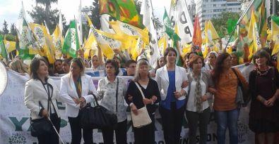 HDP'den Antalya'da coşkulu kadın şenliği