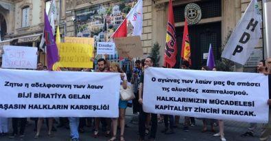 HDK ve HDP'den SYRIZA'ya destek eylemi