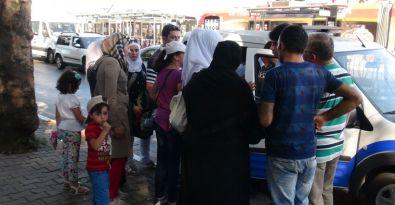 Kabataş'ta Suriyeli turistler gasp edildi